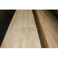 China Oak solid wood panel finger jionted panels countertops table tops butcher block tops kitchen tops on sale