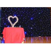 Wholesale Wedding Decoration Led Star Curtain Lights , Led Star Cloth Backdrop DC12V/3A from china suppliers