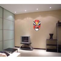 China Beijing Opera Mask Mirror Sticker for sale