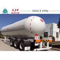 Wholesale 58.1 Cbm 3 Axles LPG Tank Trailer , LPG Gas Tanker Truck ASME Standard from china suppliers