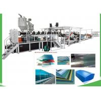 Wholesale Transparent Plastic PET Sheet Extrusion Line For Sheet / Board 1220mm Width from china suppliers