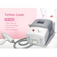 Buy cheap Portable 1064nm 532nm Q switch Nd Yag Laser Tattoo Removal Carbon Peeling Machine from wholesalers