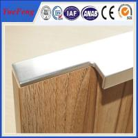 Wholesale hot selling aluminum cabinet edge handle profile in china from china suppliers