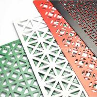 Wholesale Decorative hole aluminum perforated sheet from china suppliers