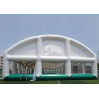 Wholesale Giant Sports Arena Air Sealed Inflatable Tent Stadium With Roll Up Doors from china suppliers