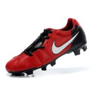 Wholesale Most Popular Black/Red TPU Sole Soccer Shoes  from china suppliers