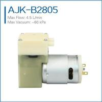 Buy cheap high flow miniature vacuum pump 6V from wholesalers