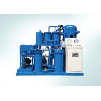 High Precision Vacuum Lube Oil Purification Machine With Press Filter for sale