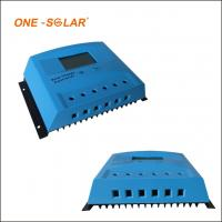 China 10A 20A 30A Solar Charger Controller , 12v 24v auto LCD screen PWM solar charger for sale