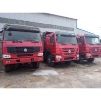 Wholesale 375 Hp 2nd Hand Tipper Trucks , 6*4 LHD Used Tipper Trucks For Transferring Animals from china suppliers