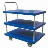 Wholesale 3-layer Platform Hand Trucks with Single Side Handle, Measures 900 x 600 x 1,010mm from china suppliers