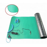 Wholesale Conductive Industrial ESD Rubber Mat 2 Layers Grounding Cord from china suppliers