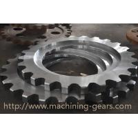 Best Non - Standard Aluminum Motorcycle Chain Sprockets Industrial Machinery Parts wholesale