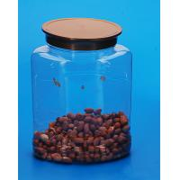 Wholesale Plastic Material Plastic Sample Jars , Durable Sugar Coffee Tea Canister from china suppliers