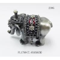 Thailand Gifts Trinket Box Elephant Shape Jewelry Boxes For Gift