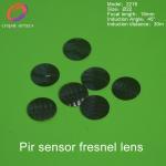 China Round shape HDPE material humanbody infrared detection pir sensor fresnel lens ,infrared fresnel lens 2218 for sale