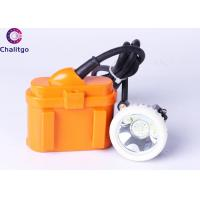 Buy cheap KJ6LM LED Miners Cap Lamp Corded Mining Lights 6Ah Battery for 15 Years from wholesalers