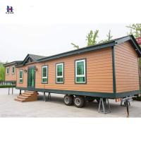 China Hotel Use and Sandwich Panel Material prefabricated glass house on sale
