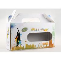 CMYK Color Square Recycled Paper Gift Packaging Boxes QS Approval For Melon Seed for sale
