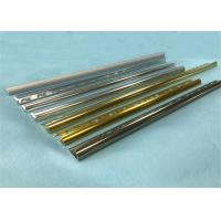 Buy cheap Flooring Accessories Aluminum Carpet Edge Trim T6 Temper ISO9001 Approval from wholesalers
