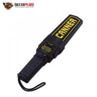 China Waterproof Portable Metal Detector Scanner / Small Metal Detector Wand for sale