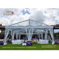 Wholesale Transparent  PVC  Temporary  Outdoor Party Tents Used for 300 People Wedding Party from china suppliers