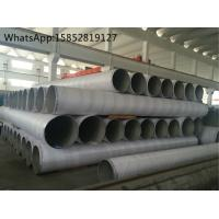 Best TP316Ti Large Outside Diameter Stainless Steel Welded Pipe For Petrochemical Industry wholesale