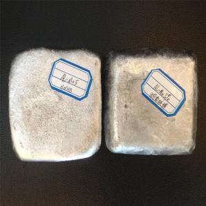 Best AlMo master alloy , Aluminum molybdenum alloy ingot AlMo10 wholesale