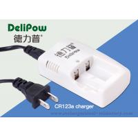 Portable 2 Slots Nimh CR123A Charger For Rechargeable Batteries