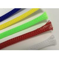 Environmental Braided Wire Sheathing Customized Color For Cable Harness Protection