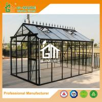 Wholesale Optional PC/Glass Glazing, Durable Easy DIY Freely Extended Glasshouse - 377X253X250CM (L X W X H) from china suppliers