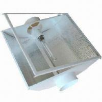 Wholesale 8-inch XXXL Air-cooled Grow Light Reflector for MH/HPS Lamp, with High-purity Aluminum on 4 Sides from china suppliers