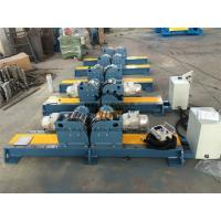 Quality PU Wheel Automatic Tank Turning Rolls With Control Cabinet 10 Ton for sale