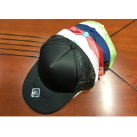 Wholesale Hot sale high quality custom colors foam mesh sports trucker hats caps with logo from china suppliers