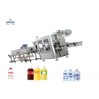 Wholesale Shrink Sleeve Wine Bottle Filling Capping And Labeling Machine Double Head from china suppliers