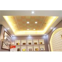 Wholesale 0.6mm Aluminum Drop Ceiling Panels For Living Room Decoration from china suppliers