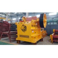 China Hydraulic Stone PEV Jaw Crusher Quartz Primary Stone Rock Crushing Machine on sale