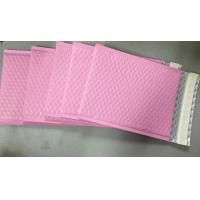 Wholesale Custom Aluminum Foil Pink Metallic Bubble Envelope Moisture Proof from china suppliers