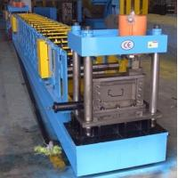 PLC Control Steel Door Frame Roll Forming Machine 16mm Wall Plate THK