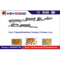 Wholesale Roasted Corn Flakes Food Production Equipment , Food Manufacturing Equipment from china suppliers