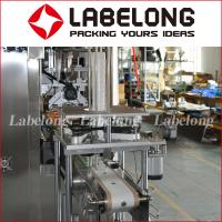 Pet Bottle Shrink Sleeve Labeling Machine With Touch Screen Control System for sale