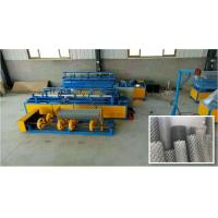 Wholesale Automatic Single Wire Mesh Machine , Chain Link Fence Equipment 380V/50HZ from china suppliers