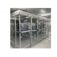Wholesale Assembly Line Class 100 Laminar Air Flow Cabinet / Softwall Clean Room from china suppliers