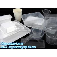 Wholesale Airtight leakproof microwave custom rectangle plastic meal compartment bento lunch box food storage container with FOOD from china suppliers
