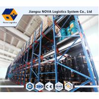 Wholesale Cold Rolled Steel Shuttle Pallet Racking Durable Electrostatic radio shuttle racking from china suppliers