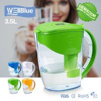 High PH Level Alkaline Classic Water Pitcher 3.5L Capacity With Digital Indicator for sale