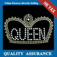 Wholesale D0929 100% QC!2014 wholesale hot fix strass motif hotfix rhinestone design from china suppliers
