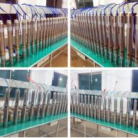 Wholesale 3 years warranty 4 inches screw solar water pump system for deep well from china suppliers