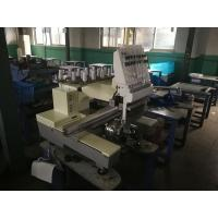 China Single Head 15 Needles Embroidery Machine For Clothing 50 / 60Hz for sale