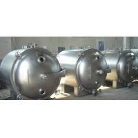YZG-600L 4 Trays Industrial Vacuum Chamber , Conical Round Static Vacuum Drying Machine
